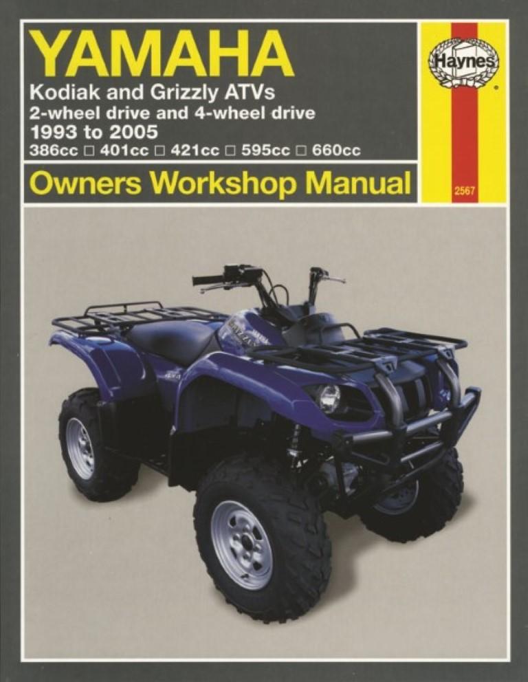 yamaha atv repair manual free