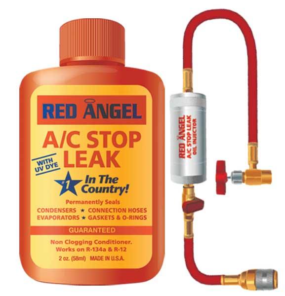 red angel a c stop leak injector kit blu49496 kit ebay. Black Bedroom Furniture Sets. Home Design Ideas