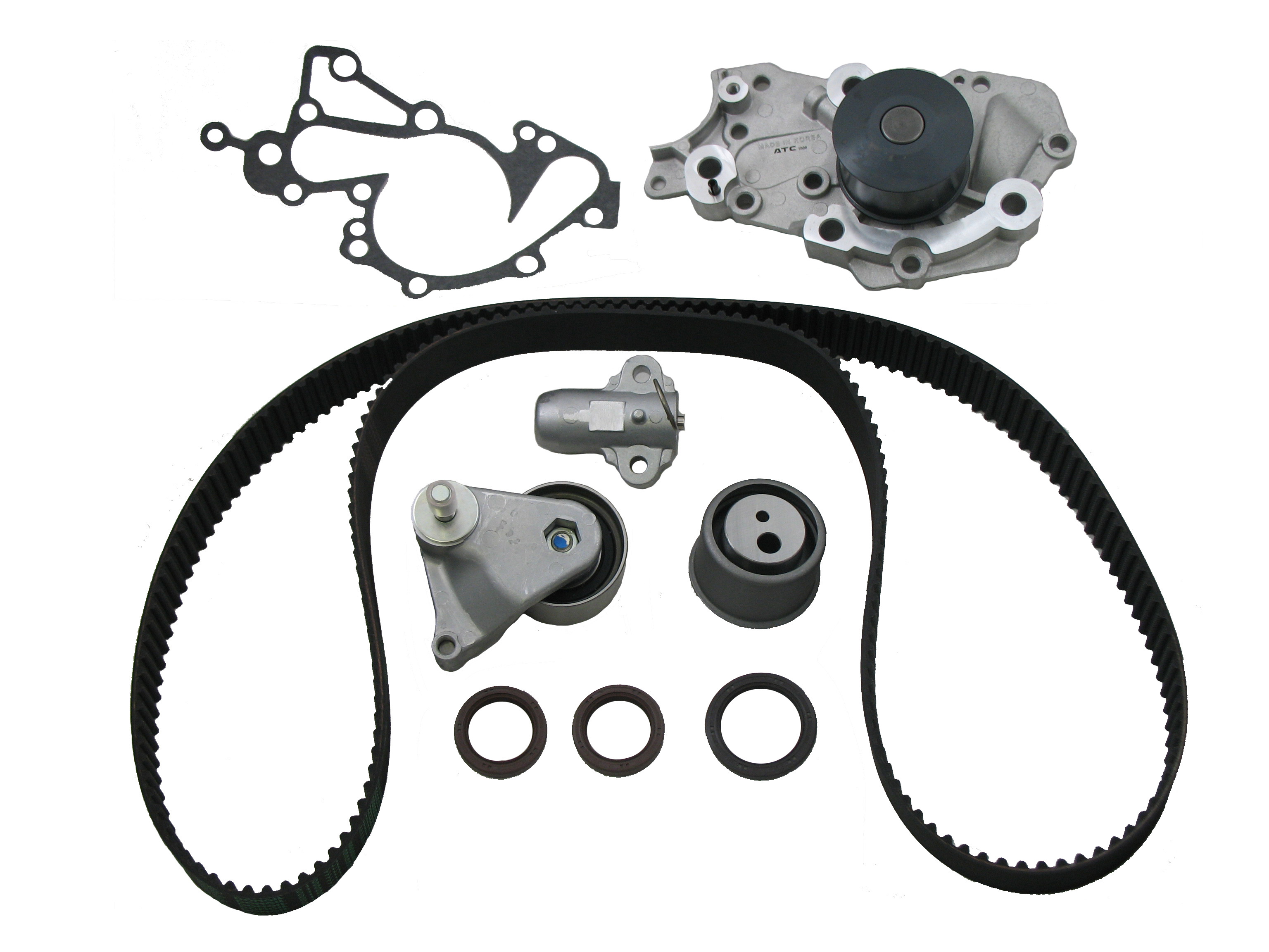 2007 Santa Fe Timing Belt Water Pump Question Hyundai 6146225 Kit H2483e001 Fits